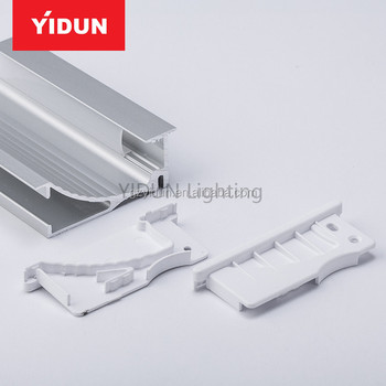 Aluminum Profiles Led Insert Luminous Stair Nosing For Curved Staircase