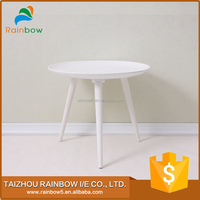 trade assurance end natural wood table