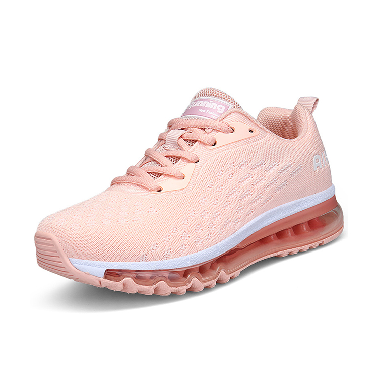 Air travel Shoes Fashion sneakers fly knit active sports shoes Fly fabric women walking shoes, Black;gold;black red;dark blue;rose;pink
