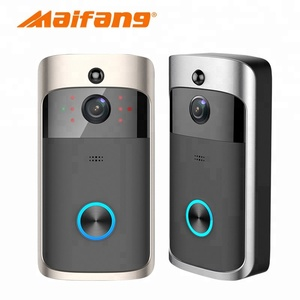 Wireless IP Digital Camera Wifi Video Door Phone Doorbell Intercom waterproof support to answer door bell on smart phone