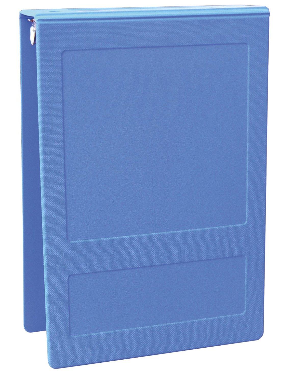 "Top Open 5 Ring Molded Binder Size: 1.5"", Color: Medium Blue"