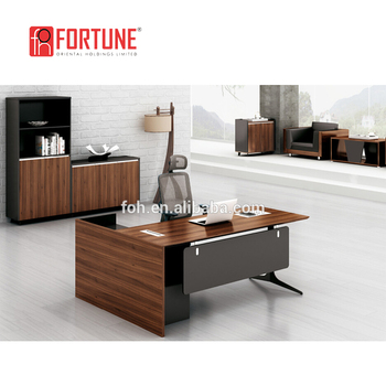 Makro Office Furniture Customized Cheap Office Executive Desk(foh
