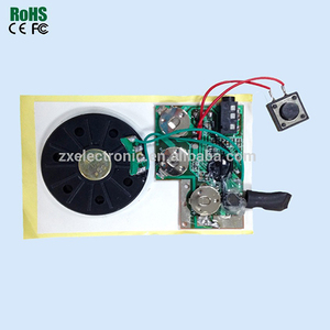 Light Sensitive Sound Module For Greeting Card