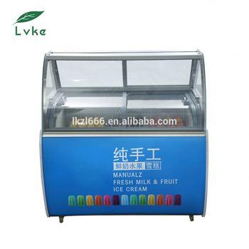 Super Eiscreme-kühlschrank-gefrierschränke-spender Für Niedrigen Preis LZ29