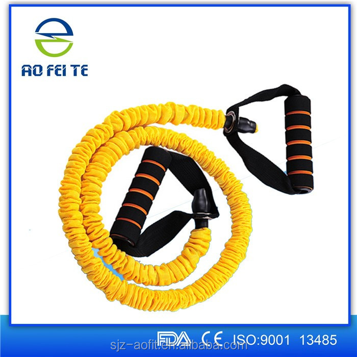 New style Body Building Pull Rope Latex Resistance Bands Workout Exercise Pilates Yoga Fitness Equipment Tool