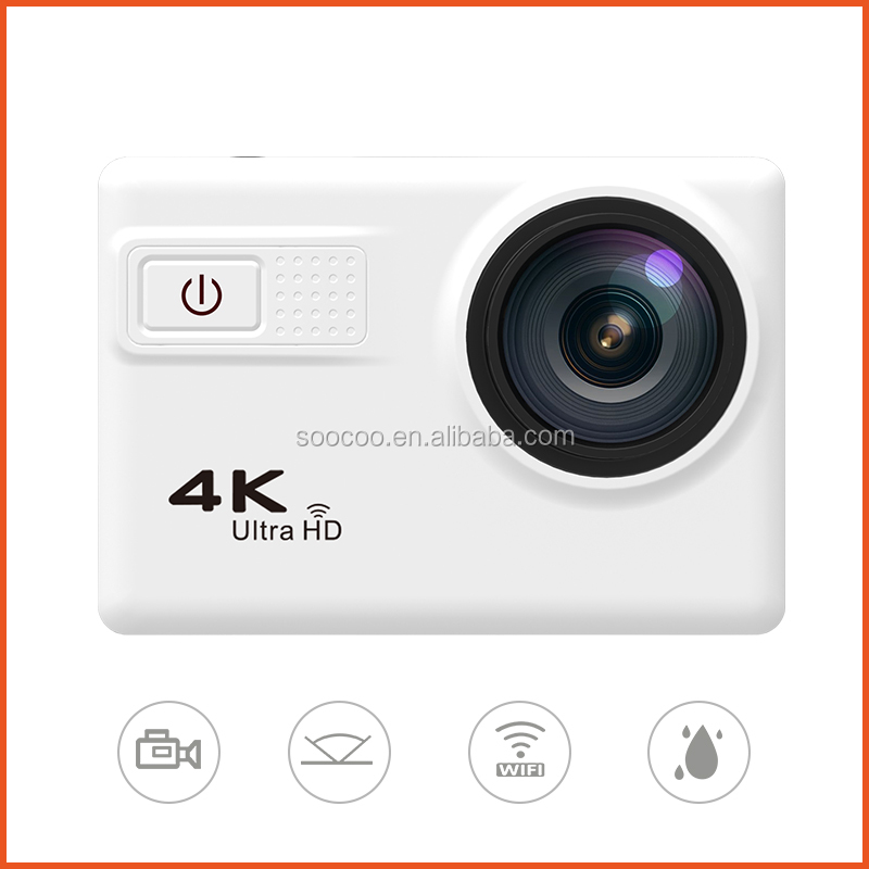 High Quality C30 NTK96660 IMX 117 Sensor 2.0 Inch Ultra HD 20MP Wifi 4K Sports Action Cam