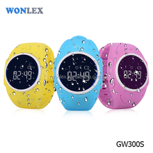 Wonlex new arrival model GW300S IP67 real waterproof GPS GPRS smart watch for kids |electronic tracking devices for children