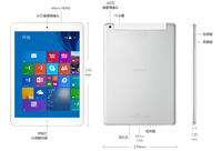 9.7 inch Tablet pc onda v919 3g air Win8 with original Office 365 SIM card slot
