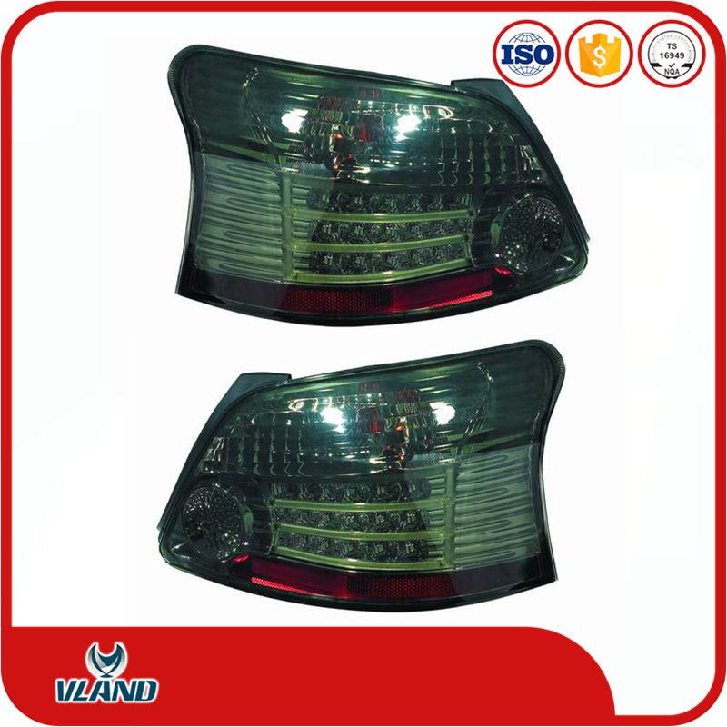 VLAND CAR ACCESSORIES AUTO LAMP FOR TOYOTA VIOS 2008-2013 LED TAIL LAMP TAILLIGHTS rearlight