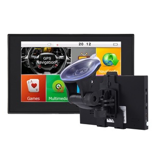 GPS Navigation for Car, 5 Inch Touch Screen Voice Reminding Vehicle GPS Navigator Lifetime Free Map
