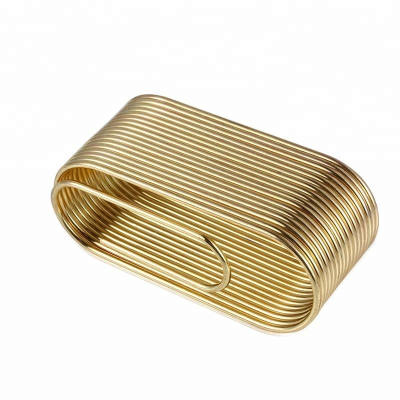 Wholesale Metal Business Name Hollow Card Holder