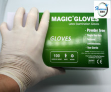 Cheap latex examination gloves malaysian glove in health & medical coated industrial with best service and low price