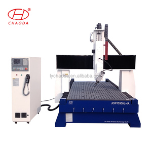 High quality high Z axis 4th axis used wood caving cnc machine price in us