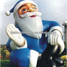 Huge Christmas inflatables,lovely inflatable santa claus