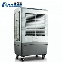 Silent Rotation Movable Desert Air Cooler Evaporative Cooling