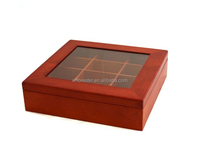 cheap wholesale unfinished wooden craft boxes wooden bow tie storage box