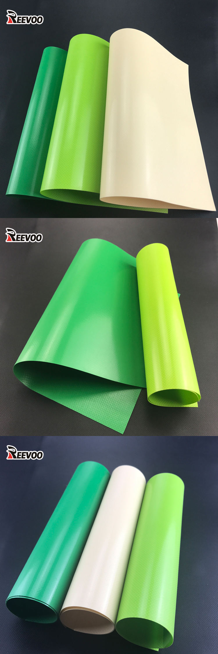 China factory waterproof pvc coated tarpaulin fabric, pvc tarpaulin