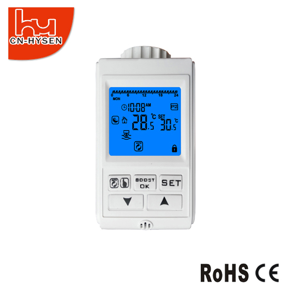 TRV Programmable Radiator Thermostat