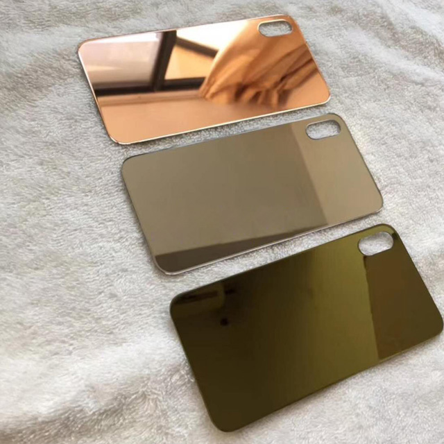Luxury 24K Gold Wireless-charging Glass Back Plate