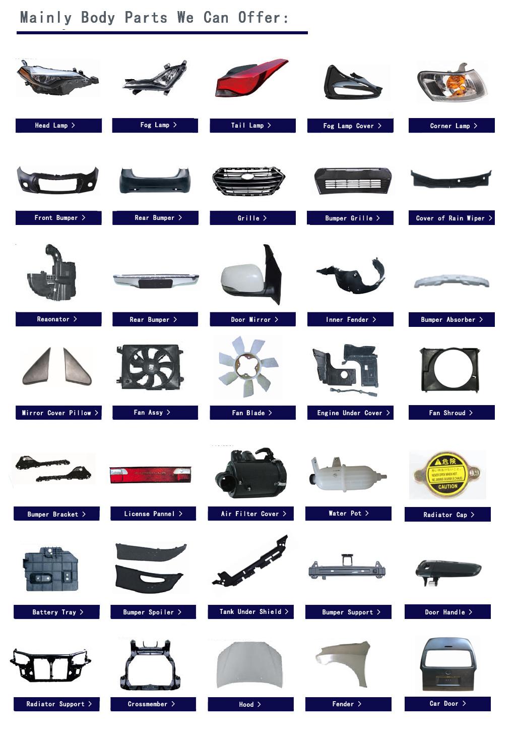 HOOFD LAMP ELEKTRISCHE MET MOTOR VOOR ACCENT 2012 MIDDEN-OOSTEN TYPE 92102-1R040 92101-1R040 221-1160