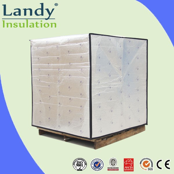 Pallet bag for transportation insulated seafood shipping