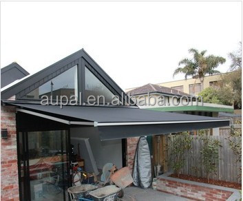 Retractable Patio Awning Garden Pool Sun Rain Shade Canopy Shelter Tent Outdoor : sun canopy for garden - afamca.org
