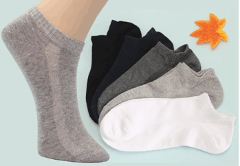 combed cotton odor free socks