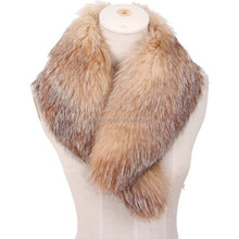 Factory direct wholesalefaux fur collar/faux fur shawl collar for coat