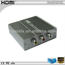 Full HD 1080P hdmi to av/rca Converter Support NTSC and PAL two TV formats