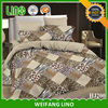 bedclothes 3d/baby bed linen/patchwork bed sheet designs