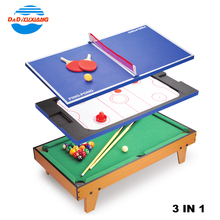 3 in 1 kids play mini billiard multi game table for selling