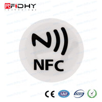 Competitive price microchip read-only RFID animal tag rfid stickers