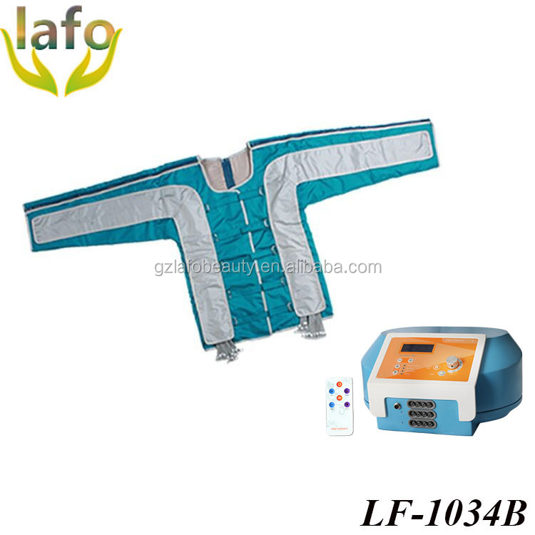 Professional pressotherapy cellulite reduction machine for lymphatic drainage
