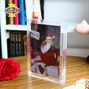 JINBAO acrylic magnetic photo frame transparent mirror picture photo frame crystal acrylic led latest design photo frame