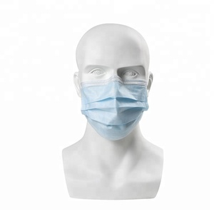 Medical Consumable Disposable 3 Ply Anti-pollution Non-woven Safety Surgical Face Mask