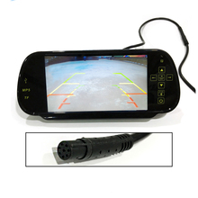"7 ""TFT LCD Car Rear View Backup Monitor Bluetooth <span class=keywords><strong>USB</strong></span> sd-kaart fm-<span class=keywords><strong>zender</strong></span> Voor parkeergelegenheid Reverse <span class=keywords><strong>Camera</strong></span>"