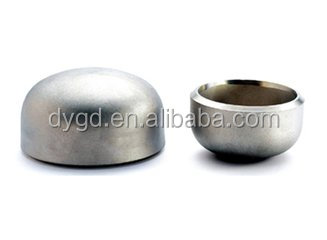 Cangzhou 2 inch Stainless Steel 304 Threaded End Cap fittings