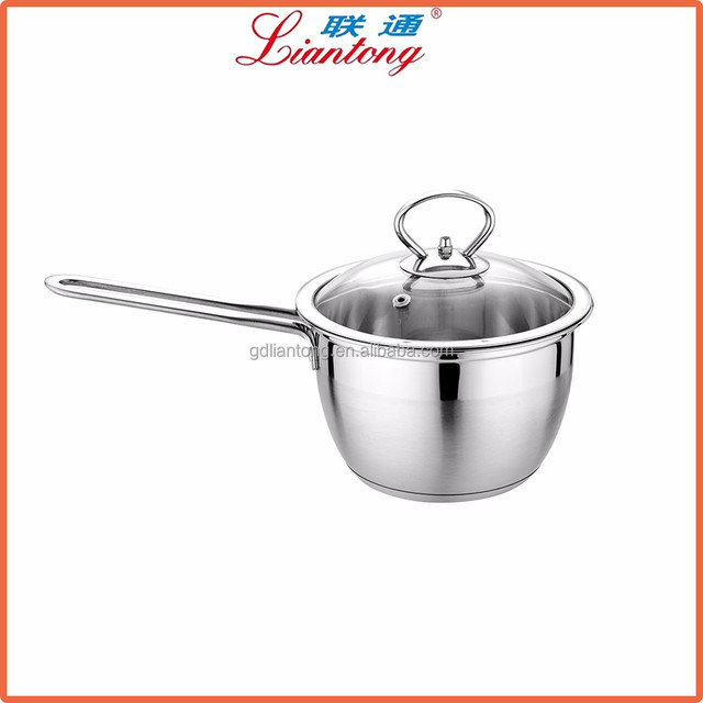 best selling products 16cm stainless steel chocolate warmer melting pot, mini Butter Warmer Pot