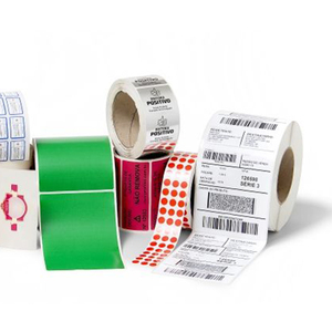 sheet bar code printed plant labels barcode label with custom