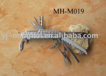 Stainless steel multi function tool knife