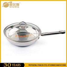 Well Sold Stainless Steel Kitchen Cookware Commercial Electric Wok