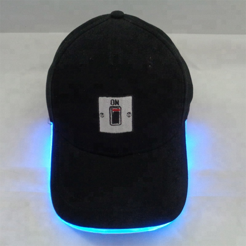 Summer Fashionable LED Light Performance Party <strong>Cap</strong> Sport Mesh Baseball <strong>Cap</strong>