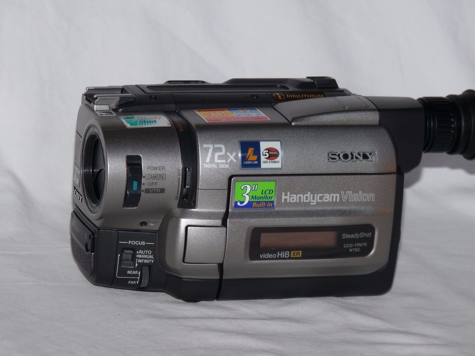 buy sony ccdtrv75 hi8 handycam camcorder 72x digital zoom in cheap rh guide alibaba com sony video 8 xr handycam manual sony handycam vision ccd-trv108 ntsc video hi8 manual