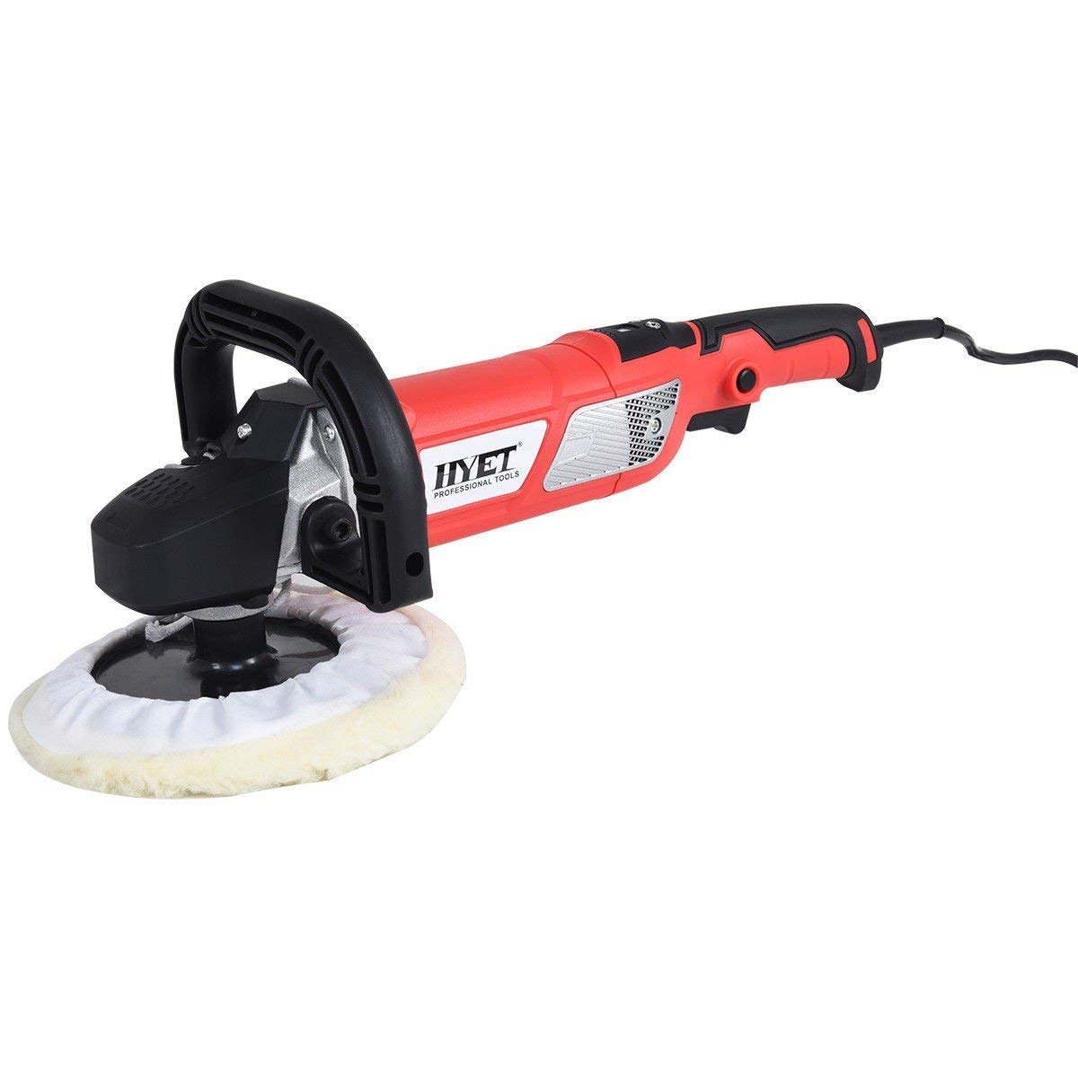 "Car Polisher Electric Buffer 7"" Variable Speed Waxer Sander Detail Boat Machine MD Group"