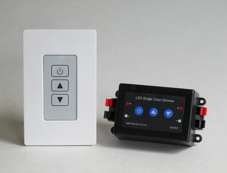 Wall-mounted Dmx512 Dimmer Switch