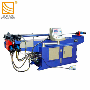 DW50NC Hydraulic making metal plate adjust by hand tube pipe bender machine press brake