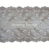 New Designs Of Nylon Spandex Lace Scarf Pattern For Lingerie