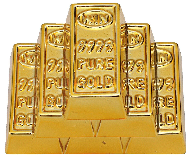 Gold Burbank ( piggy bank ) SAN1595