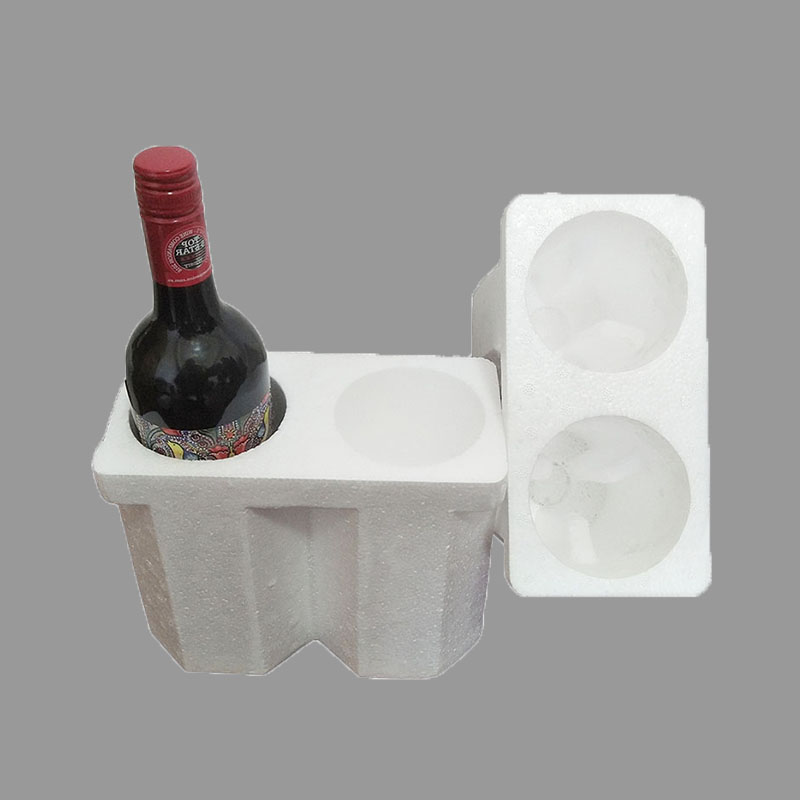 EPS foam cooler | insulated shipping box | | wine foam case 2 package