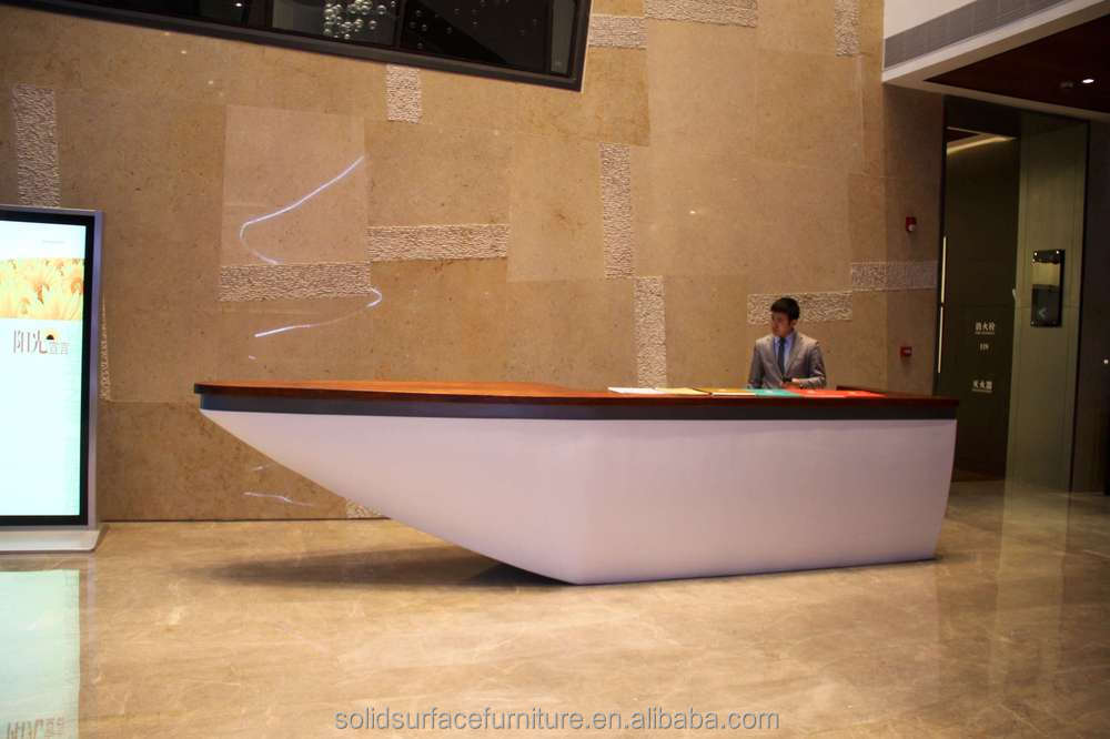 Splendid Unique Modern Hotel Curved Reception Desk Buy